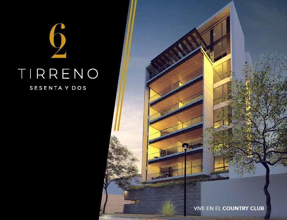 Departamento en Venta Tirreno , Country Club, Guadalajara