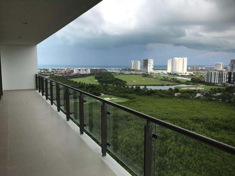Departamento en Venta, BE TOWERS, Puerto Cancun, Cancun