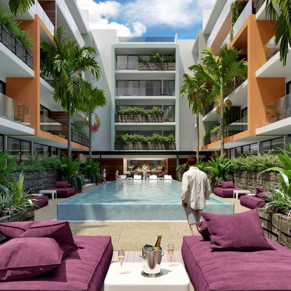 Departamento The City En Playa Del Carmen Excelente Inversion