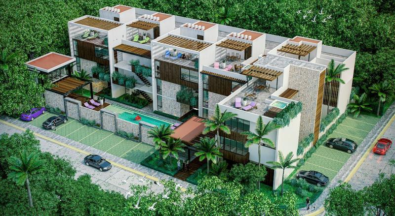 Departamento Tulum ¨condo Marea¨ Exclusivo Lujo Inversion